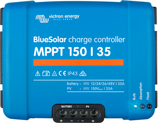 BlueSolar MPPT 150/35 up to 250/100